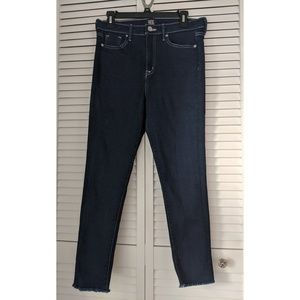 BDE Twig High-Rise Skinny Frayed Hem Jeans